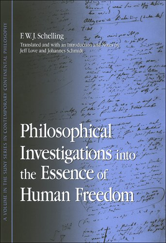 Philosophical Investigations into the Essence of Human Freedom   2006 edition cover