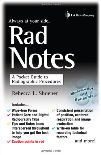 Rad Notes A Pocket Guide to Radiographic Procedures N/A edition cover