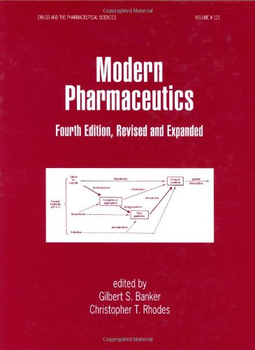 Modern Pharmaceutics  4th 2002 (Revised) edition cover