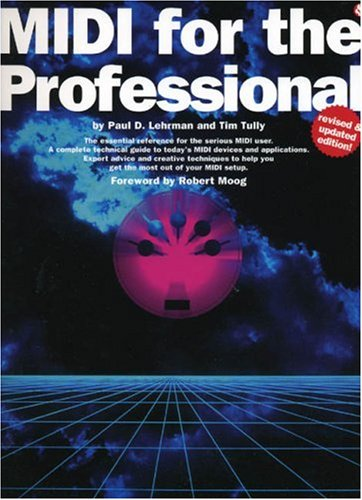 MIDI for the Professional  N/A edition cover
