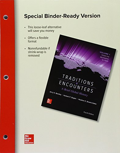 Looseleaf for Traditions and Encounters: a Brief Global History Volume 1  4th 2016 9781259712746 Front Cover