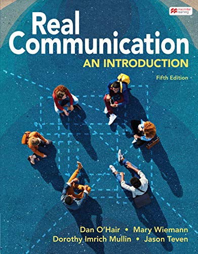 Cover art for Real Communication: An Introduction, 5th Edition