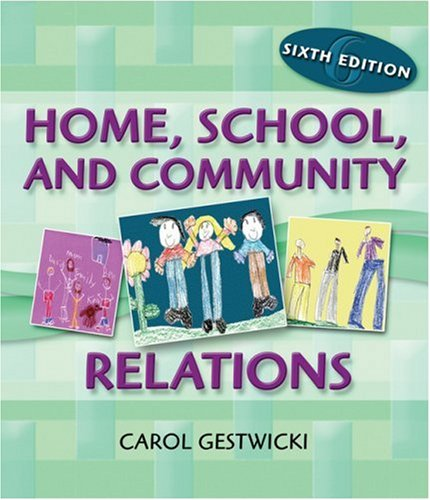 Home, School, and Community Relations  6th 2007 (Revised) edition cover