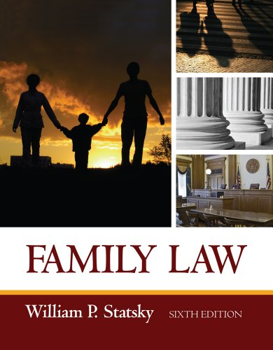 Family Law  6th 2013 edition cover