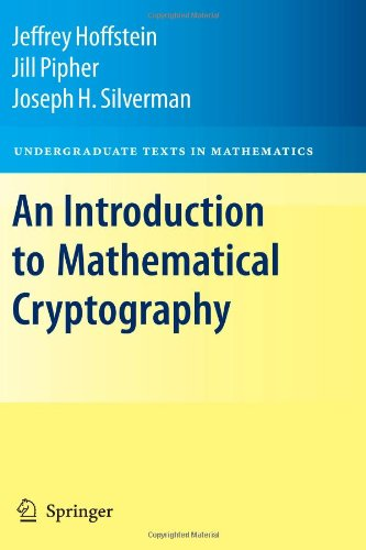 Introduction to Mathematical Cryptography   2008 edition cover