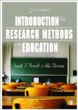 Introduction to Research Methods in Education  2nd 2015 edition cover
