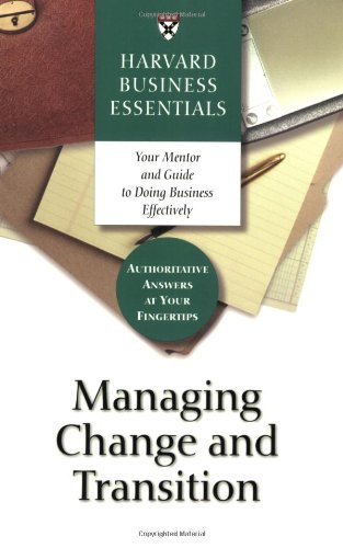 Managing Change and Transition   2003 edition cover
