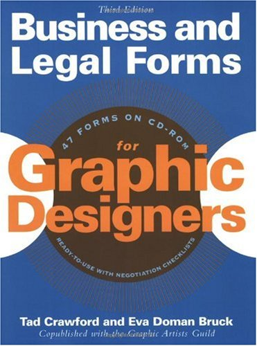 Business and Legal Forms for Graphic Designers  3rd 2003 (Revised) 9781581152746 Front Cover