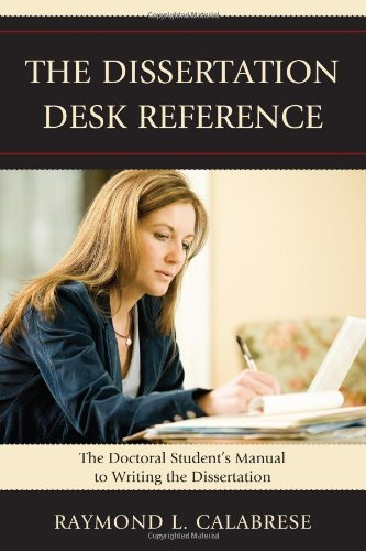 Dissertation Desk Reference The Doctoral Student's Manual to Writing the Dissertation  2009 edition cover