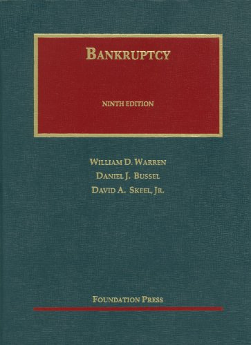 Bankruptcy  9th 2012 (Revised) edition cover