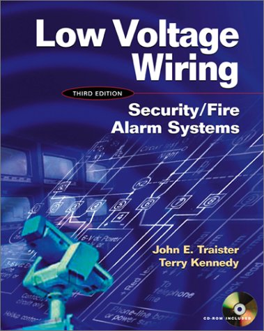 Low Voltage Wiring Security/Fire Alarm Systems 3rd 2002 edition cover