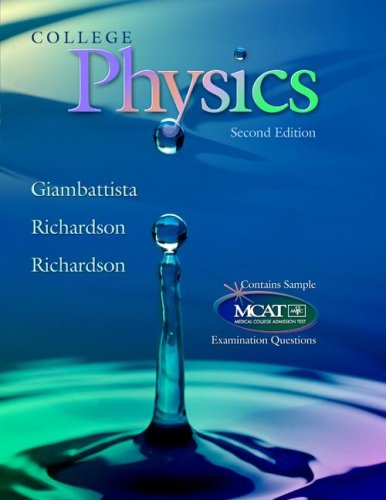College Physics  2nd 2007 9780073301747 Front Cover