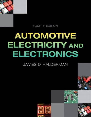 Automotive Electricity and Electronics  4th 2014 edition cover