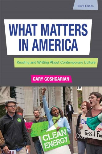 What Matters in America  3rd 2012 (Revised) edition cover