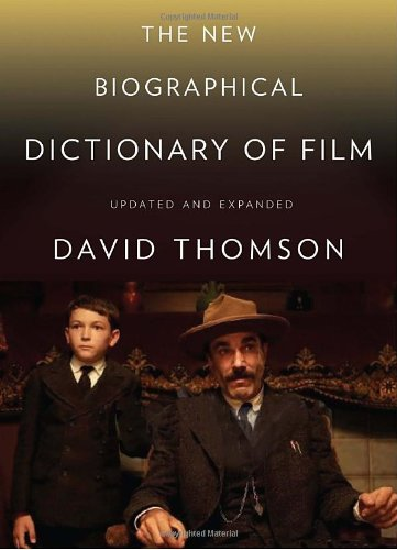 New Biographical Dictionary of Film  5th 2010 (Revised) edition cover
