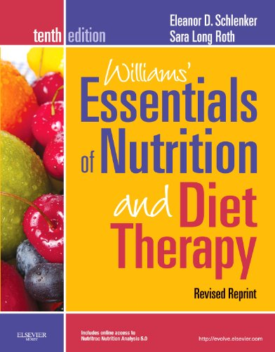 Williams' Essentials of Nurtition and Diet Therapy  10th 2011 (Revised) edition cover