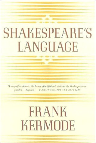 Shakespeare's Language  N/A 9780374527747 Front Cover