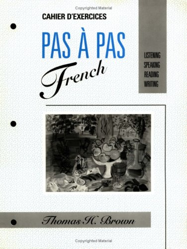 PAS � PAS French Listening, Speaking, Reading, Writing  1991 (Workbook) 9780471617747 Front Cover