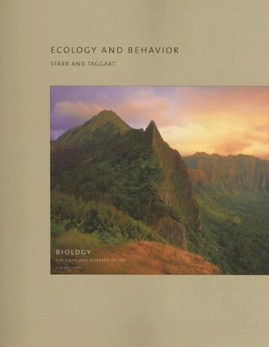 Ecology and Behavior  11th 2006 (Revised) 9780495125747 Front Cover