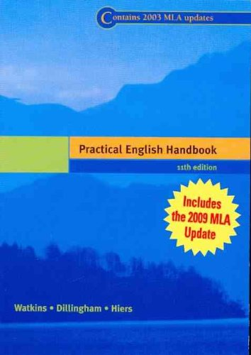 Practical English Handbook (with 2009 MLA Update Card)  11th 2001 9780495899747 Front Cover