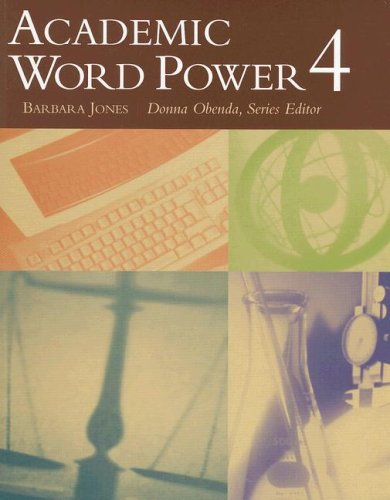 Academic Word Power 4   2004 edition cover