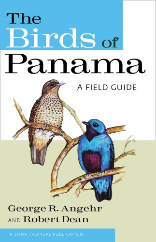 Birds of Panama A Field Guide  2010 edition cover