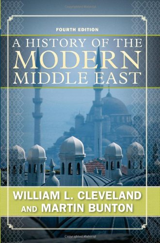 History of the Modern Middle East  4th 2009 edition cover