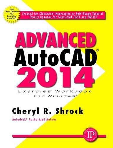 Advanced AutoCAD 2014   2013 edition cover