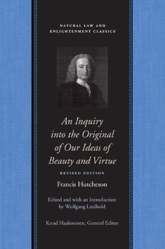 Inquiry into the Original of Our Ideas of Beauty and Virtue  2nd 2008 (Revised) edition cover