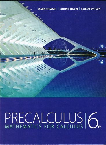 Mathematics for Calculus  6th 2012 edition cover