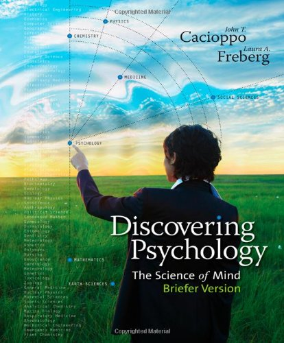 Discovering Psychology The Science of Mind, Briefer Version  2013 edition cover