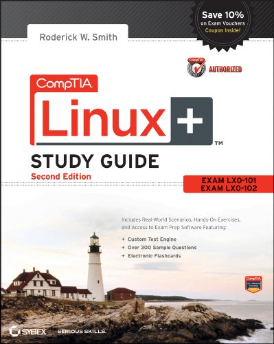 CompTIA Linux+ Exam LX0-101, Exam LX0-102 2nd 2013 edition cover
