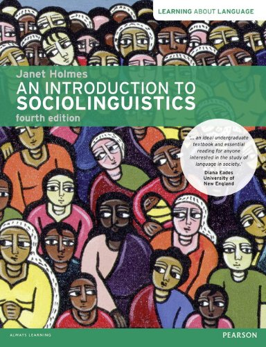 Introduction to Sociolinguistics  4th 2013 (Revised) edition cover