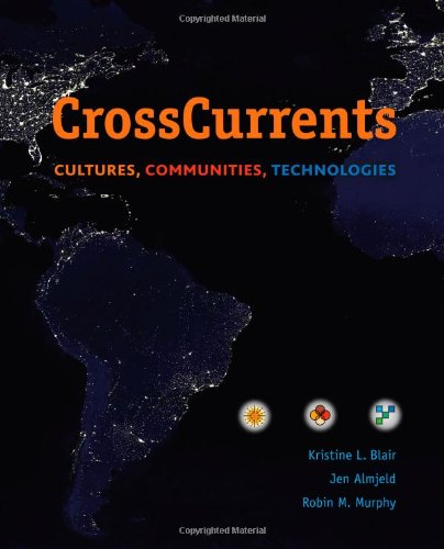Cross Currents Cultures, Communities, Technologies  2014 edition cover