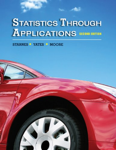 Statistics Through Applications  2nd 2011 edition cover