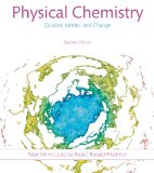 Physical Chemistry: Quanta, Matter, and Change  2014 edition cover