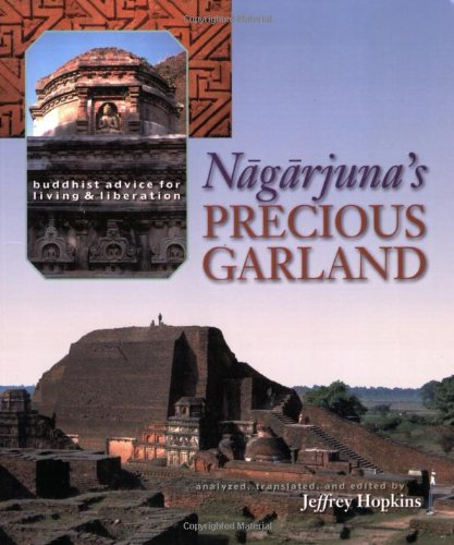 Nagarjuna's Precious Garland Buddhist Advice for Living and Liberation N/A 9781559392747 Front Cover