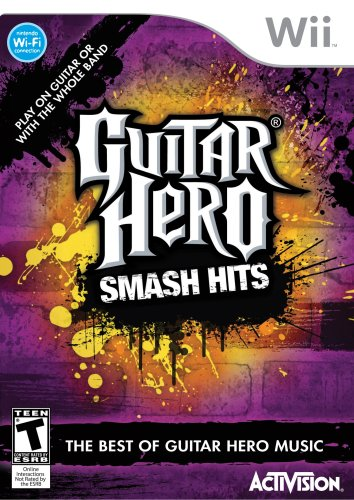 Guitar Hero Smash Hits - Nintendo Wii Nintendo Wii artwork