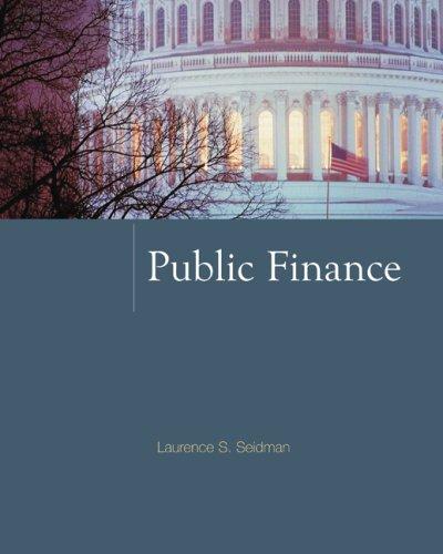 Public Finance  2009 edition cover