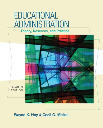 Educational Administration Theory, Research, and Practice 8th 2008 (Revised) edition cover