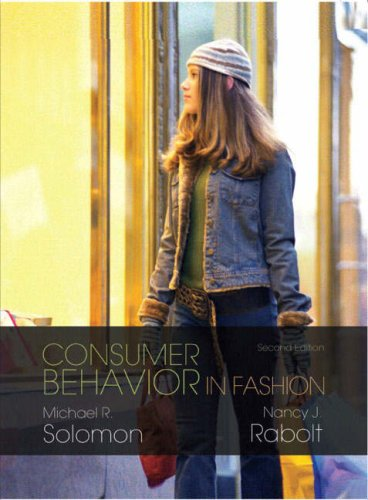 Consumer Behavior in Fashion  2nd 2009 (Revised) edition cover