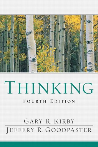 Thinking  4th 2007 edition cover