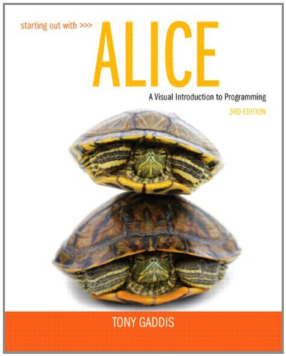 Starting Out with Alice  3rd 2013 edition cover