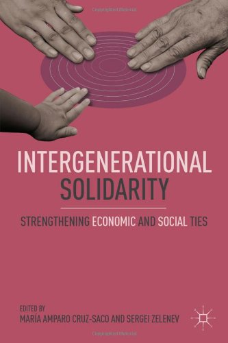 Intergenerational Solidarity Strengthening Economic and Social Ties  2010 9780230110748 Front Cover