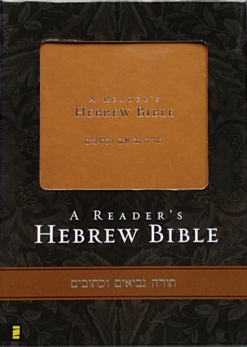 Reader's Hebrew Bible  N/A edition cover