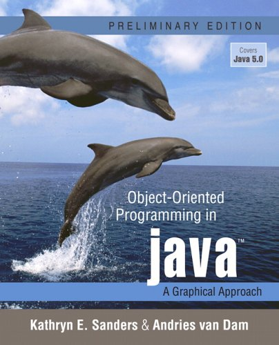 Object-Oriented Programming in Java A Graphical Approach  2006 edition cover