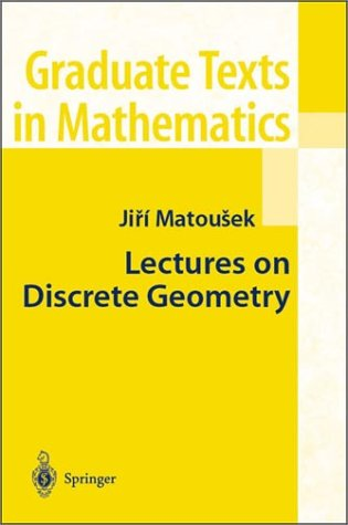 Lectures on Discrete Geometry   2002 edition cover