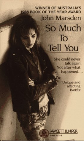 So Much to Tell You  N/A 9780449703748 Front Cover