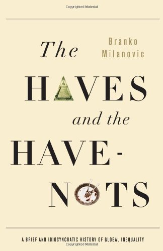 Haves and the Have-Nots A Brief and Idiosyncratic History of Global Inequality  2010 edition cover