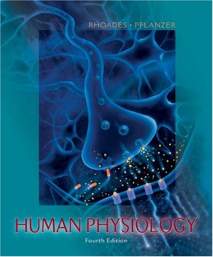Human Physiology  4th 2003 9780534421748 Front Cover